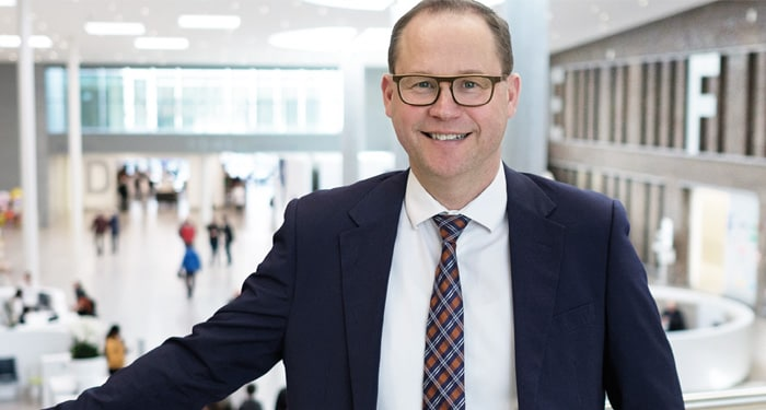 The World's Best Hospital Chiefs: Christophe Mouton