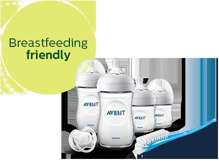 Natural-starterset voor flesvoeding