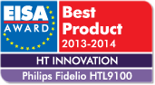 Award for Fidelio wireless surround sound speakers