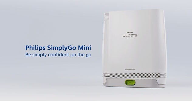 Video Philips SimplyGo Mini