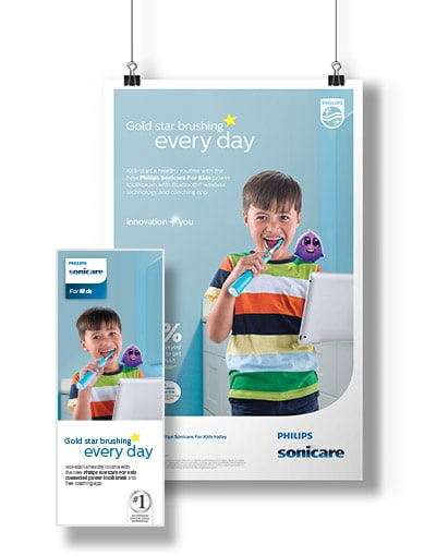 Sonicare for kids posters
