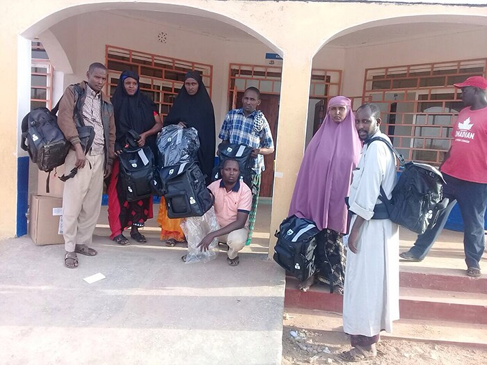 CHW workers in Mandera equipped with new CLC outreach kits