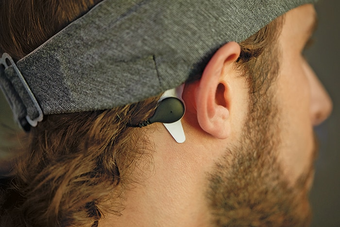 PowerSleep Sensor Connect Behind Ear