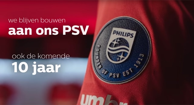 Philips mouwbadge PSV