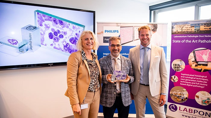 Philips - Laboratorium Pathologie Oost-Nederland wint 100% Digital Award
