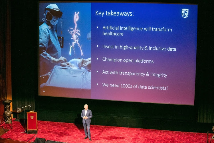 Philips CEO Frans van Houten on stage at Tuschinski Key Takeaways