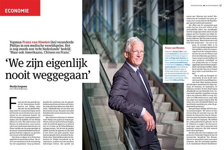 Interview Elsevier Weekblad